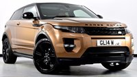 USED 2014 14 LAND ROVER RANGE ROVER EVOQUE 2.2 SD4 Dynamic Coupe 4X4 3dr Auto [9] Fully Loaded with £10k Extra's