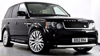 USED 2012 12 LAND ROVER RANGE ROVER SPORT 3.0 SD V6 HSE 5dr Auto [8] Autobiography Design Pack, TV