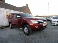 USED 2012 12 FORD RANGER XLT Double Cab 4x4 2.2 TDCi 4dr ( 150 bhp ) One Previous Owner Truckman Canopy