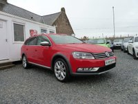 USED 2013 63 VOLKSWAGEN PASSAT Alltrack BlueMotion Tech 4 Motion 4x4 2.0 TDI 5dr ( 140 bhp ) One Owner From New Rare 4x4 Model FSH
