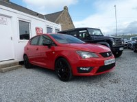 USED 2015 15 SEAT IBIZA FR Black 1.2 TSI 5dr One Owner From New FSH