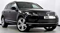 USED 2015 15 VOLKSWAGEN TOUAREG 3.0 TDI BlueMotion Tech V6 R-Line Station Wagon Tiptronic 5dr Pan Roof, Camera's, Sat Nav ++