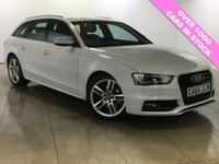 USED 2015 64 AUDI A4 2.0 AVANT TDI S LINE START/STOP 5d 148 BHP STUNNING EXAMPLE /MUST BE SEEN