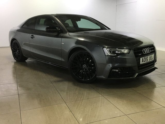 View our 2015 15 AUDI A5 3.0 TDI QUATTRO S LINE BLACK EDITION PLUS 2d AUTO 245 BHP
