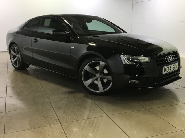View our 2014 14 AUDI A5 2.0 TDI S LINE BLACK EDITION 2d 177 BHP
