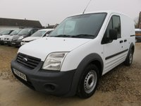 2011 FORD TRANSIT CONNECT 1.8 TDCi T200 SWB LOW ROOF 90 BHP 62420 MILES £4995.00