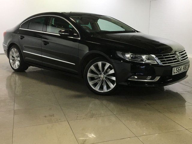 View our 2014 64 VOLKSWAGEN CC 2.0 GT TDI BLUEMOTION TECHNOLOGY 4d 138 BHP