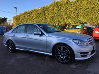2013 MERCEDES-BENZ C CLASS 2.1 C250 CDI BLUEEFFICIENCY AMG SPORT PLUS 4d AUTOMATIC  £13000.00
