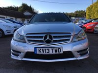 USED 2013 13 MERCEDES-BENZ C CLASS 2.1 C250 CDI BLUEEFFICIENCY AMG SPORT PLUS 4d AUTOMATIC  NO DEPOSIT  FINANCE ARRANGED, APPLY HERE NOW