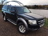 USED 2007 07 FORD RANGER 2.5 XLT 4X4 D/C 1d 141 BHP **ONE OWNER - NO VAT**
