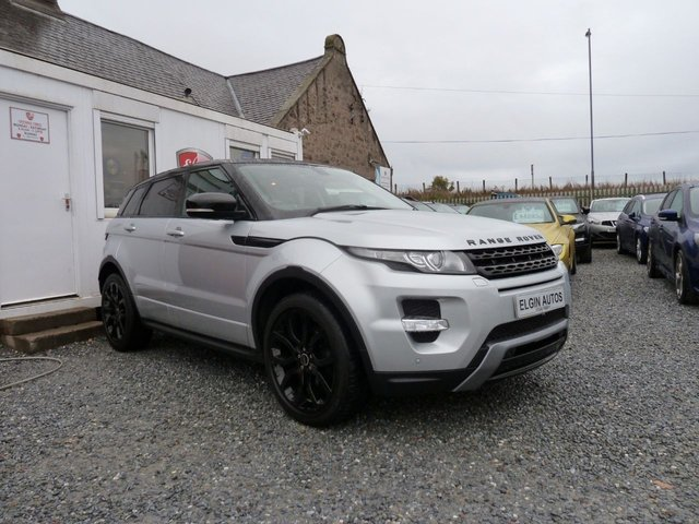 2012 12 LAND ROVER RANGE ROVER EVOQUE Dynamic AWD 2.2 SD4 5dr ( 190 bhp )