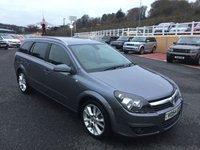 USED 2004 54 VAUXHALL ASTRA 2.0 DESIGN TURBO 5d 170 BHP Black half leather, colour screen, alloys, privacy & more. 170bhp model