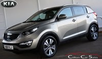 2011 KIA SPORTAGE 2.0CRDi KX-3 4WD 5 DOOR 6-SPEED 134 BHP £8990.00
