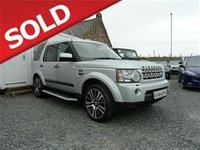 USED 2010 LAND ROVER DISCOVERY 4 3.0SDV6 5dr GS Auto