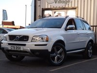 USED 2011 11 VOLVO XC90 2.4 D5 R-DESIGN SE AWD 5d AUTO 197 BHP Full Service History 6 Stamps, Superb in white, great spec.