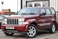 USED 2009 59 JEEP CHEROKEE 2.8 LIMITED 5d AUTO 175 BHP SERVICE HISTORY 6 STAMPS, NEW MOT,