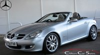 USED 2005 54 MERCEDES-BENZ SLK SLK200 KOMPRESSOR ROADSTER AUTO 161 BHP Finance? No deposit required and decision in minutes.