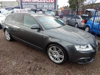 """USED 2011 11 AUDI A6 2.0 AVANT TDI S LINE SPECIAL EDITION 5d AUTO 168 BHP LEATHER, SAT NAV, HEATED SEATS,19"""" ALLOYS, F.S.H, RECENT CAMBELT"""