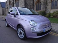USED 2013 63 FIAT 500 1.2 LOUNGE DUALOGIC 3d AUTO 69 BHP ++ LOW MILEAGE ++ GREAT CONDITION THROUGHOUT ++