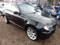 2008 BMW X3 2.0 D M SPORT 5d AUTO 175 BHP £6995.00