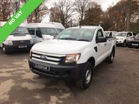 USED 2013 13 FORD RANGER NO VAT XL 4X4 SINGLE CAB PICK UP TDCI NO VAT SINGLE CAB PICK UP 4x4