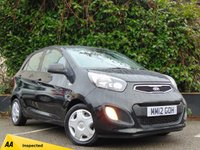 USED 2012 12 KIA PICANTO 1.0 1 5d * 128 POINT AA INSPECTED *