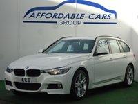 2013 BMW 3 SERIES 2.0 320D XDRIVE M SPORT TOURING 5d AUTO 181 BHP £12450.00