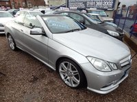 2013 MERCEDES-BENZ E CLASS 2.1 E220 CDI BLUEEFFICIENCY SPORT 2d AUTO 170 BHP £12995.00
