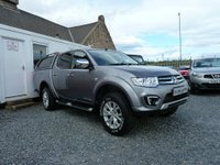 USED 2014 64 MITSUBISHI L200 Barbarian LB Double Cab Pickup 4WD 2.5 DI-D 4dr ( 175 bhp ) One Owner FMBSH 4x New A/T Tyres