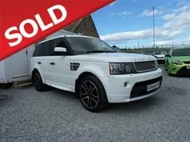 2011 LAND ROVER RANGE ROVER SPORT 5.0 V8 Supercharged Autobiography Station Wagon 5d 5000cc auto