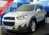 USED 2011 61 CHEVROLET CAPTIVA 2.2 LTZ VCDI 5d 184 BHP Stunning well specked example with Sat nav, reversing camera, Leather Interior, xenon lights, Bluetooth, cruise control, seven seats, 19 inch 5 spoke  just about every option you can have and looks and drives fantastic with only one owner from new and a full main agent service history at Premier Chevrolet Rochdale. This car has style, elegance , luxury 7 seats and four wheel drive so ticks all the boxes.