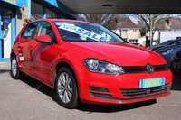 2014 VOLKSWAGEN GOLF MK 7 1.6 SE TDI BLUEMOTION TECHNOLOGY 5dr 103 BHP £8795.00