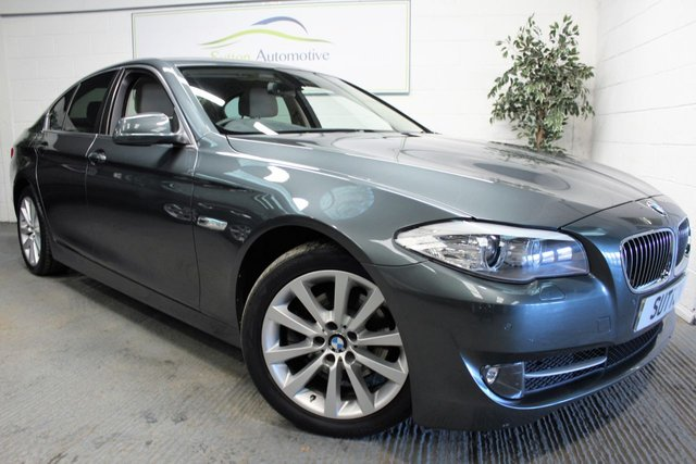 2011 61 BMW 5 SERIES 2.0 520D SE 4d AUTO 181 BHP