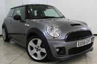 USED 2008 58 MINI HATCH COOPER 1.6 COOPER S CHILI PACK 3DR 172 BHP FULL SERVICE HISTORY + HALF LEATHER SEATS + CRUISE CONTROL + MULTI FUNCTION WHEEL + AUXILIARY PORT + 16 INCH ALLOY WHEELS
