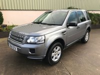 USED 2014 14 LAND ROVER FREELANDER 2.2 TD4 S 5d 150 BHP FRONT AND REAR PARK SENSORS, ALLOYS, BLUETOOTH, REALLY CLEAN INSIDE AND OUT