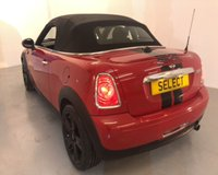 """USED 2013 MINI ROADSTER 1.6 COOPER 2d 120 BHP Fabulous example with ONLY 1 Previous Owner -stunning in Chilli red with black half leather interior,17""""black alloys,electric black roof,air con,electric rear spoiler,6 speed,Chilli pack-just serviced ready to go this Roadster really must be viewed -buy now for Christmas !!"""