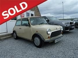 1986 AUSTIN MINI 1.0 Mayfair Saloon 2d 998cc auto