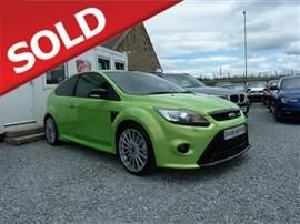 2009 FORD FOCUS 2.5 RS 3dr Hatchback Petrol