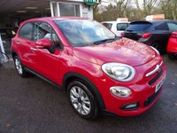 USED 2015 15 FIAT 500X 1.4 MULTIAIR POP STAR 5d 140 BHP FOUR WHEEL DRIVE One Lady Owner from new, Full Service History (Fiat + ourselves), MOT until July 2018. Balance of Fiat Warranty until July 2018