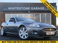 USED 2006 06 JAGUAR XK 4.2 COUPE £245 A YEAR TAX, LOW MILES FSH, SAT NAV, HEATED LEATHER SEATS, FRONT AND REAR PARKING SENSORS.