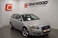 USED 2008 08 AUDI A4 AVANT 2.0 TDI SE TDV 5d 140 BHP UPGRADED FACTORY S LINE ALLOYS