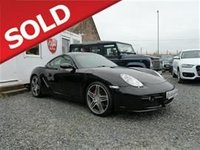 USED 2007 PORSCHE CAYMAN 3.4 S Design Edition 2dr