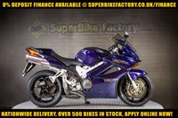 USED 2003 03 HONDA VFR800F 800CC 0% DEPOSIT FINANCE AVAILABLE GOOD & BAD CREDIT ACCEPTED, OVER 500+ BIKES IN STOCK
