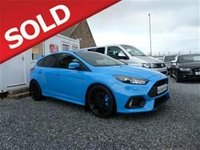 USED 2016 FORD FOCUS 2.3 (350ps) (AWD) RS EcoBoost (s/s) Hatchback 5d 2300cc