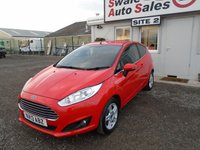 USED 2013 13 FORD FIESTA 1.0 ZETEC 3d 99 BHP £28 PER WEEK NO DEPOSIT - SEE FINANCE LINK BELOW