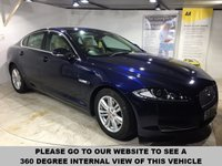 USED 2014 64 JAGUAR XF 2.2 D LUXURY 4d AUTO 163 BHP Full service history,        Full leather upholstery,         Electric driver and passenger seats,         Bluetooth,         Satellite Navigation,         Reversing camera plus front and rear sensors