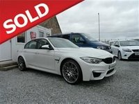 USED 2017 BMW M3 3.0 DCT 4dr Saloon Petrol