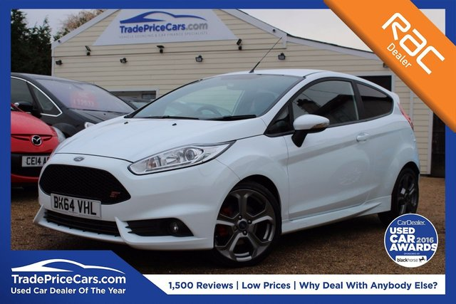 View our 2014 64 FORD FIESTA 1.6 ST-2 3d 180 BHP