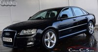 USED 2009 59 AUDI A8 3.0TDi QUATTRO SPORT SALOON AUTO 229 BHP Finance? No deposit required and decision in minutes.