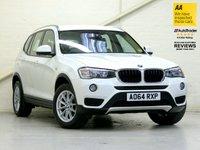 2014 BMW X3 2.0 SDRIVE18D SE 5d 148 BHP [FACELIFT] £17587.00
